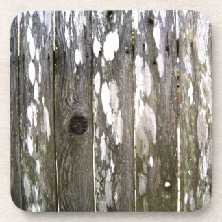 Wood Fence Texture Photography Beverage Coaster