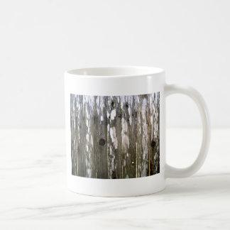 Wood Fence Texture Photography Coffee Mug