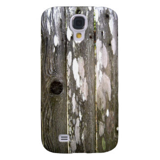 Wood Fence Texture Photography Galaxy S4 Case