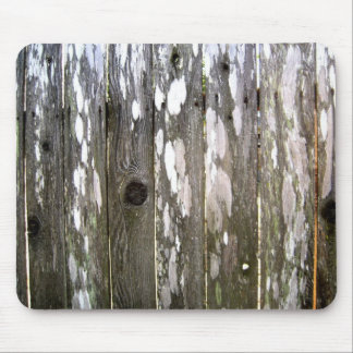 Wood Fence Texture Photography Mouse Pad