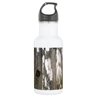 Wood Fence Texture Photography Stainless Steel Water Bottle