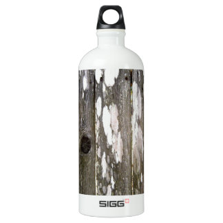 Wood Fence Texture Photography Water Bottle
