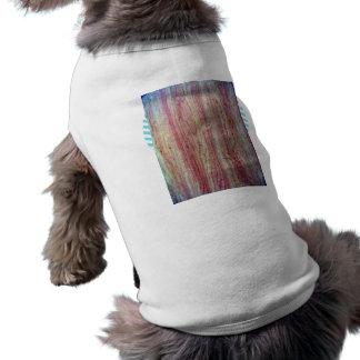 Wood fine grain texture dog tee shirt