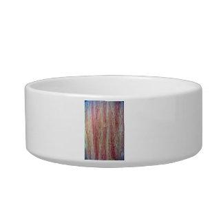 Wood fine grain texture pet bowls
