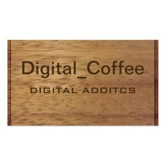 Wood Finish Business Card