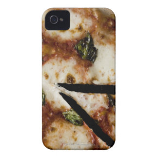 wood-fired cheese pizza Case-Mate iPhone 4 cases