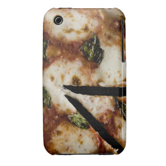 wood-fired cheese pizza iPhone 3 case