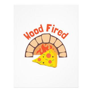 Wood Fired Letterhead