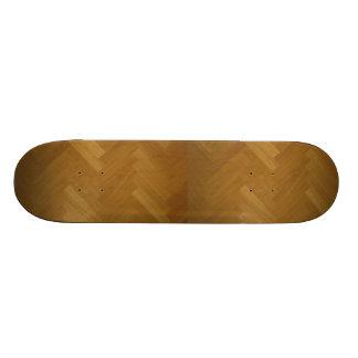 Wood Floor Panel Texture Background Skateboard