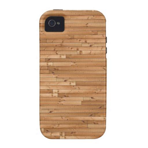 Wood floor pattern vibe iPhone 4 cases