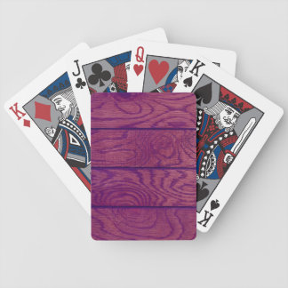 Wood Flooring Bicycle Playing Cards