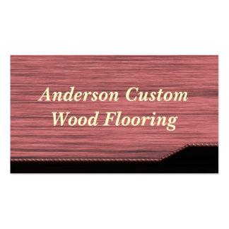 Wood Flooring Business Card