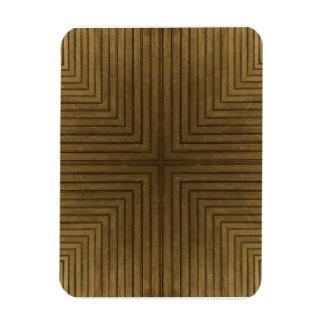 Wood Flooring Kaleidoscope Premium Magnet