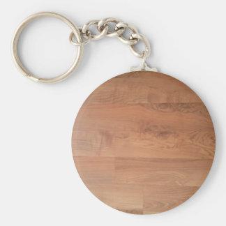 Wood Flooring Pattern Keychain