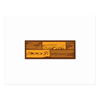 Wood Flooring Postcard