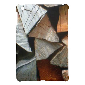 Wood for the winter near Mt Blanc range iPad Mini Cover