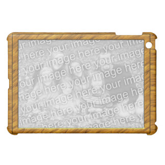 Wood Frame Photo IPad Case