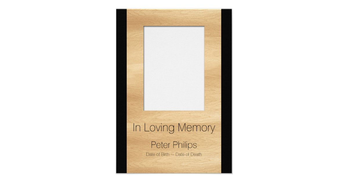 Funeral Invitations & Announcements | Zazzle