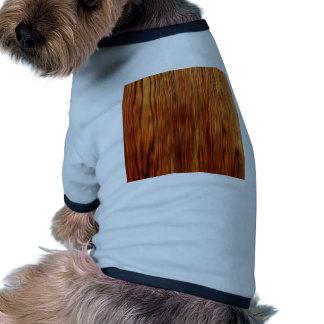 Wood Furniture Natural Brown Texture Style Fashion Dog T-shirt