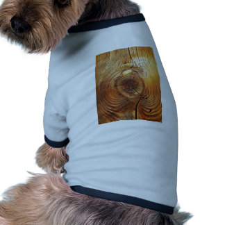 Wood Furniture Natural Brown Texture Style Fashion Doggie Shirt