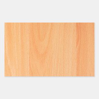 Wood Furniture Natural Brown Texture Style Fashion Rectangular Sticker