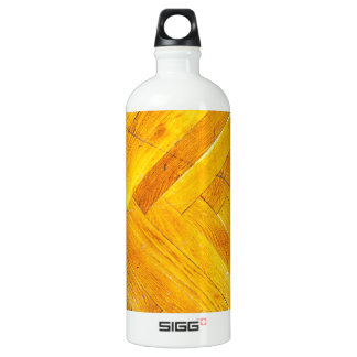 Wood Furniture Natural Brown Texture Style Fashion SIGG Traveler 1.0L Water Bottle