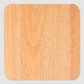 Wood Furniture Natural Brown Texture Style Fashion Square Sticker