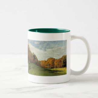 Wood Gatherers at the Edge of the Forest Mug