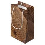 Wood Gift Wral Small Gift Bag