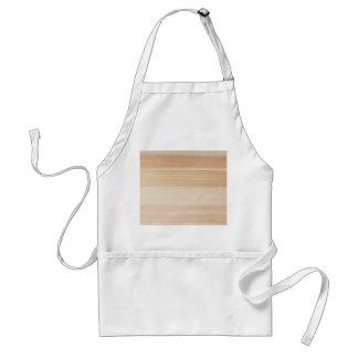 Wood grain adult apron