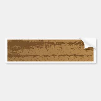 Wood Grain Background Bumper Sticker