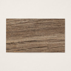 Wood Grain Business Card at Zazzle