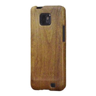 Wood grain galaxy s2 cover
