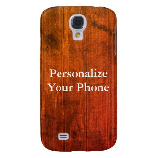 Wood Grain Colorful Samsung S4 Case