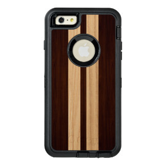 Wood Grain Dark and Light Stripes Stylish Look OtterBox iPhone 6/6s Plus Case