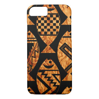 Wood Grain Fish iPhone 8/7 Case