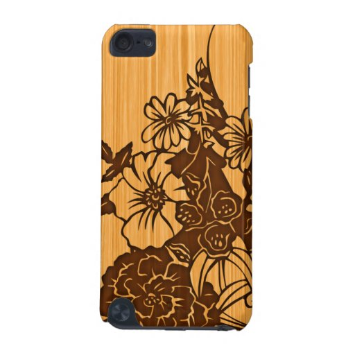 Wood Grain Floral iPod Touch Speck Case iPod Touch 5G Cover