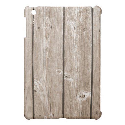 Wood Grain iPad Mini Covers