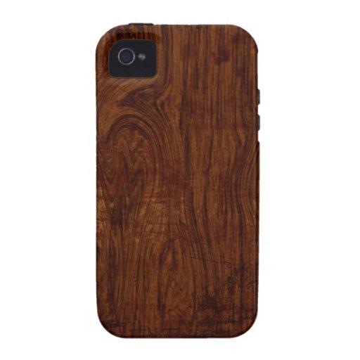 wood grain iphone 4 case zazzle. Black Bedroom Furniture Sets. Home Design Ideas