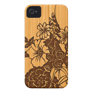 Wood Grain iPhone 4G Barely There Case-Mate iPhone 4 Case-Mate Case