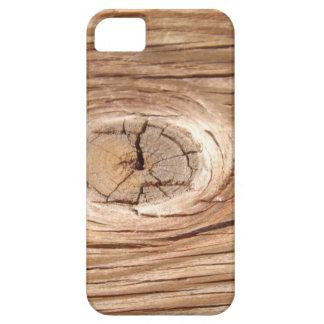 Wood Grain Knothole iPhone Case