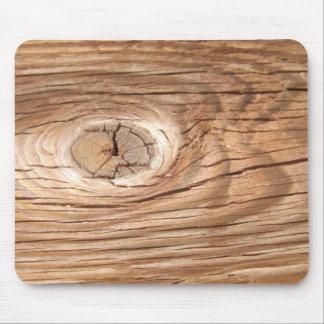 Wood Grain Knothole Mousepad
