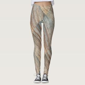 Wood Grain Leggings