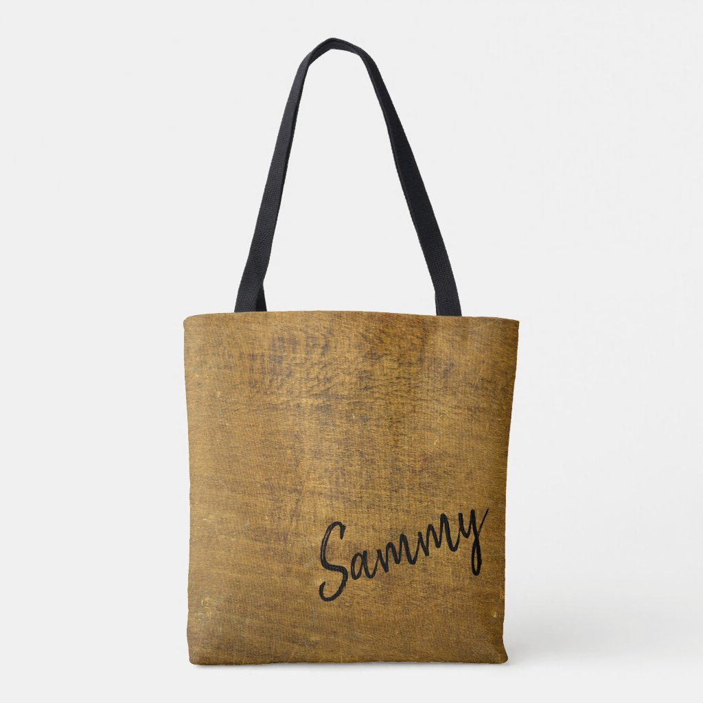 Wood Grain Look Beige Lumber Timber Background Tote Bag