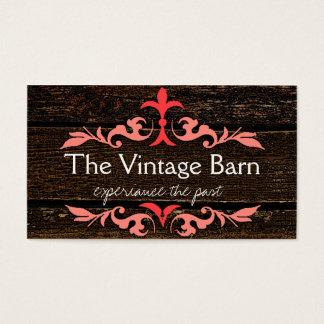 Wood Grain Look Business Card