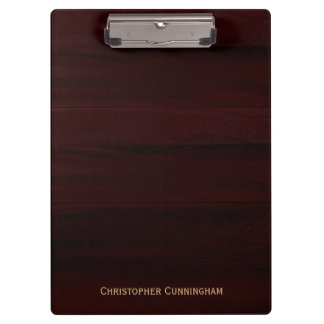 Wood Grain Look Clipboard