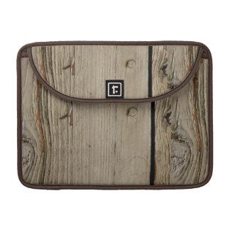 Wood Grain Macbook Pro 13 Inch Laptop Sleeve