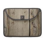 Wood Grain Macbook Pro 13 Inch Laptop Sleeve MacBook Pro Sleeve