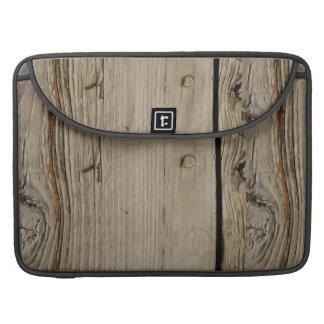 Wood Grain Macbook Pro 15 Inch Laptop Sleeve
