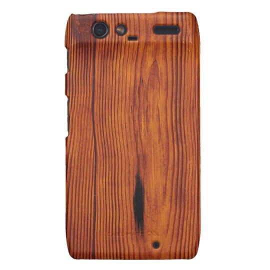 Wood Grain Motorola Droid RAZR Case